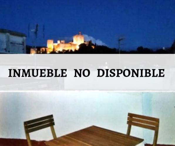 Acogedora casa en el Albaicín con vistas a La Alhambra