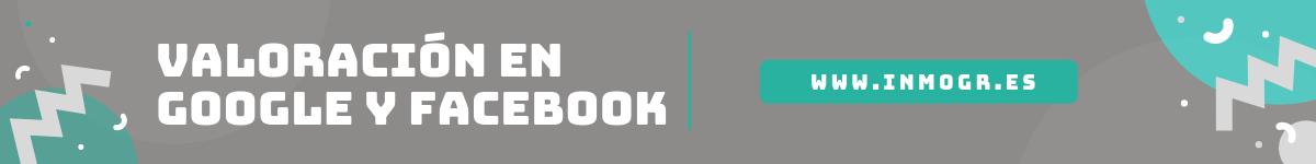 Valoracion google y facebook